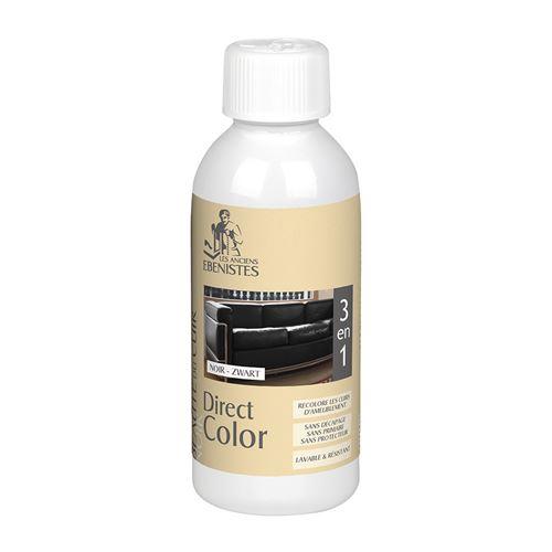 Direct Color - Recolore Le Cuir - 250ml Noir - Les Anciens ébénistes