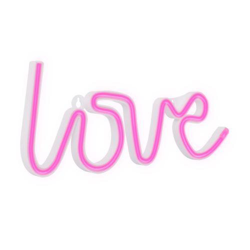 Néon LED Love Rose