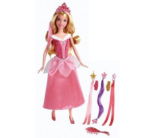 Poupée la belle au bois dormant coiffure de princesse - disney princess
