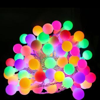 Boules colorées lumineuses