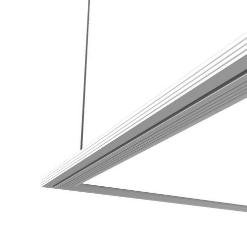 Plafonnier carré - 960 lumens - Ultra plat