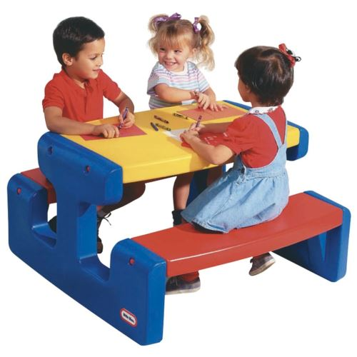 Little Tikes - Grande table pique nique - Primaire