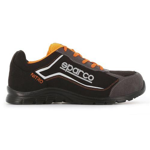 Chaussure basse S3 Sparco Nitro S24 - orange et noir - taille 42 - NITRO 07522 NRGR - 42