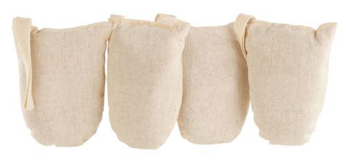 Sachets déodorants en coton et bois de cèdre - x4