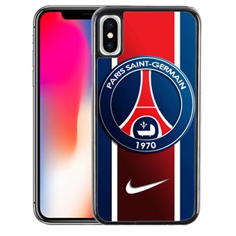 Coque pour iPhone XS MAX paris saint germain psg nike