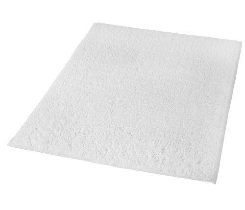 Kleine Wolke 4018100539 Kansas Tapis de Bain Blanc 55 x 65 cm
