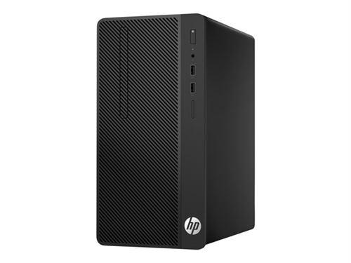 PC de bureau HP 290 g1 3.9ghz i3-7100 micro tour noir pc - 1qm93ea 1qm93eaakd_