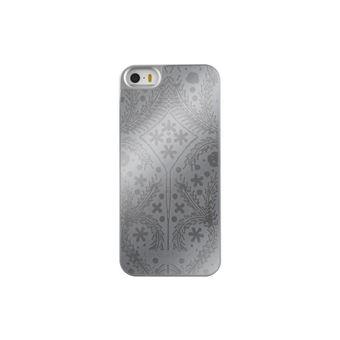 Coque iPhone 5S SE Christian Lacroix Paseo Argent