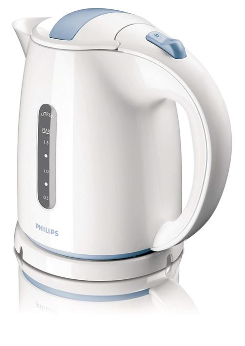 Philips HD4646/70 - Bouilloire - 1.5 litres - 2400 Watt - bleu/blanc