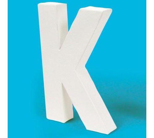 Lettre en carton K