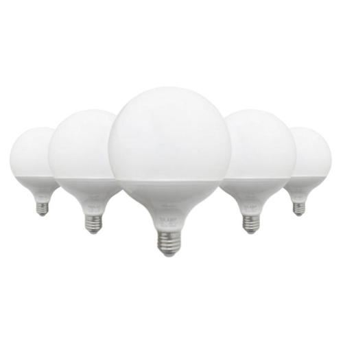 Ampoule E27 LED 18W 220V G95 300° (Pack de 5) - Blanc Froid 6000K - 8000K - SILAMP
