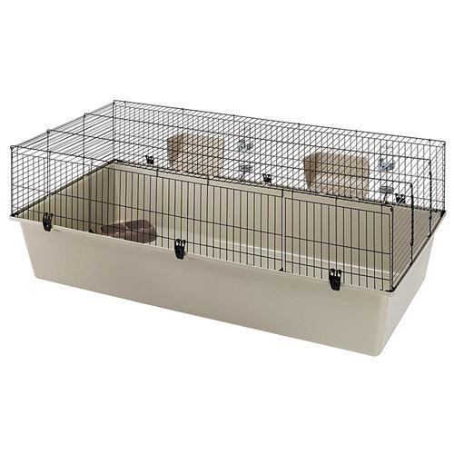 Cage pour lapins Ferplast RABBIT 160 ample métal thermoplastique confortable
