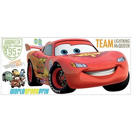RoomMates stickers muraux Lightning McQueen vinyle 106 pièces