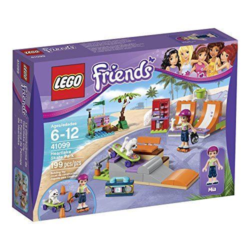 Kit de construction LEGO Friends 41099 Heartlake Skate Park