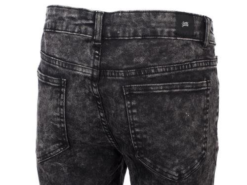 Trousers slim jeans Sixth june New york pant h Grey 40027 New