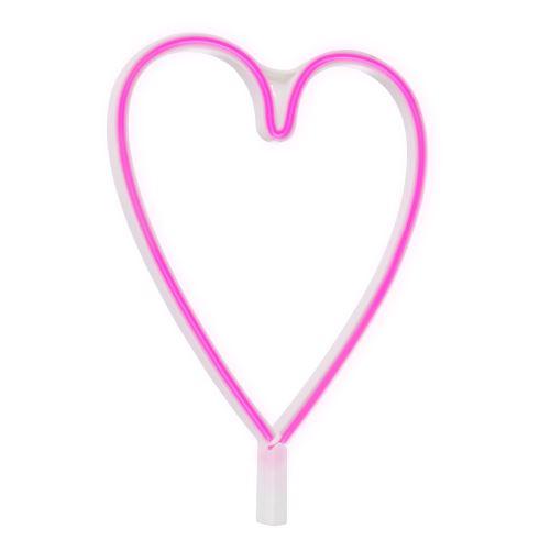 Néon LED Heart Rose