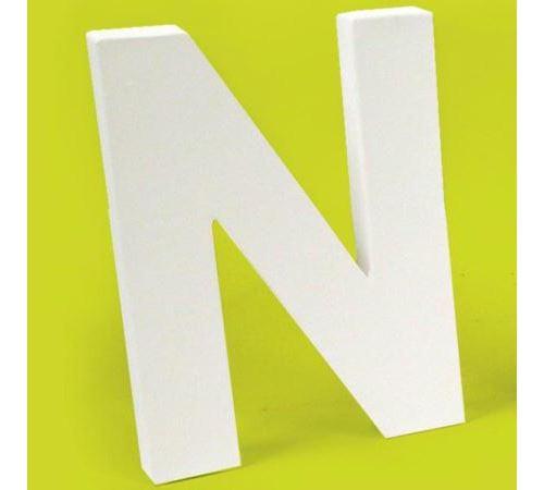 Lettre en carton N
