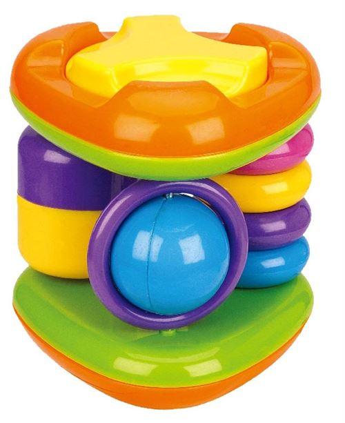 Luna jouet interactif triangle 15 cm multicolore