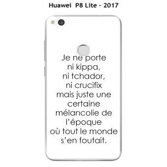 Onozo - Coque Huawei P8 Lite - 2017 design Citation