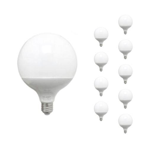 Ampoule E27 LED 18W 220V G95 300° (Pack de 10) - Blanc Froid 6000K - 8000K - SILAMP