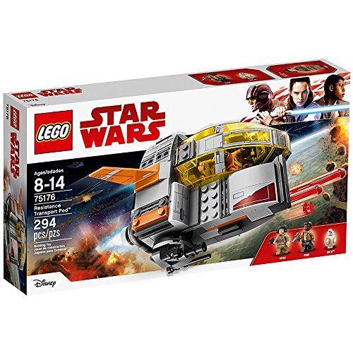 Kit de construction de la résistance Pod de résistance 75176 de LEGO Star Wars Episode VIII (294 pièces)