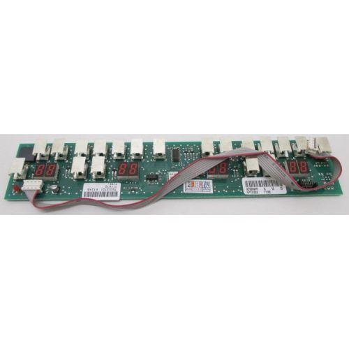 Carte clavier pour table a induction sauter
