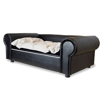 Canapé Lit Pour Chien Columbus Chesterfield Xl Black Edy Design