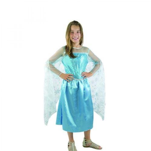 Costume Enfant Reine des Glaces Taille 5-6 ans (S)
