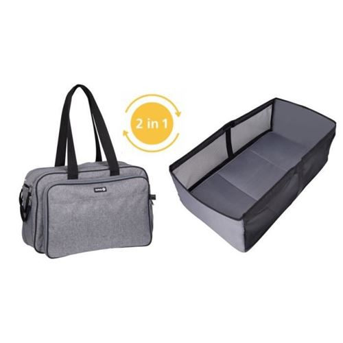 safety first sac a langer nap to go black chic
