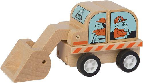 Manhattan Toy jouets d'activité Chargeur Varoom bois 10 cm