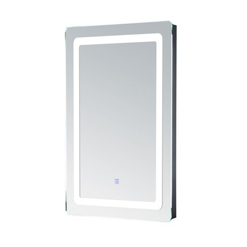 Miroir lumineux LED de salle de bain 32 W dim. 50 x 4 x 70 cm