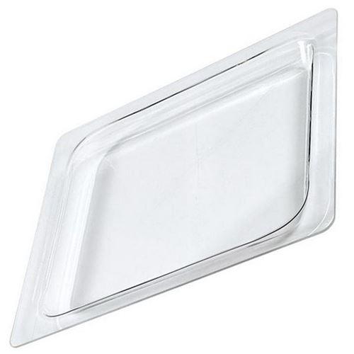 Plateau lèche frite rectangulaire en verre (400x325mm) Four micro-ondes 79X7440 DE DIETRICH, BRANDT, SAUTER, FAGOR, SANGIORGIO, THOMSON - 61953