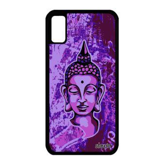 coque iphone x silicone violet