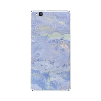 coque huawei p9 silicone marbre