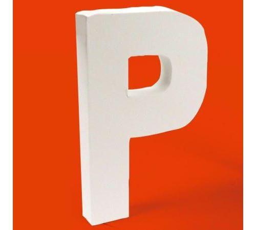 Lettre en carton P