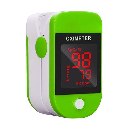 Oxymètre de pouls 109 de surveillance de la saturation avec écran LED - Vert