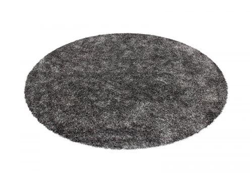 BOBOCHIC Tapis MIRENA Gris / Blanc Ø 120cm