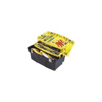-4€77 sur STANLEY Boîte a outils vide Jumbo 48cm - Rangement de l'atelier - Achat & prix | fnac