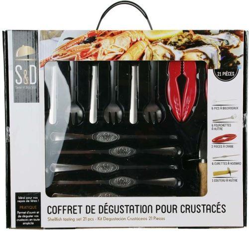Saveur Et Degustation - Coffret dégustation de crustacés 21 pièces