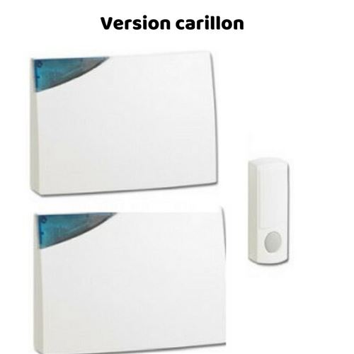 Sonnette de Porte Sans Fil, Option Carillon