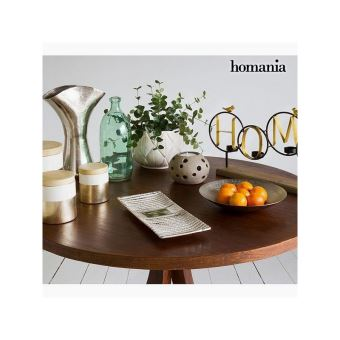 Centre De Table Argent Collection New York By Homania Achat