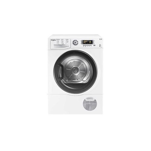 Whirlpool DELY8000 - Sèche-linge - indépendant - largeur : 59.5 cm - profondeur : 61 cm - hauteur : 85 cm - chargement frontal - blanc