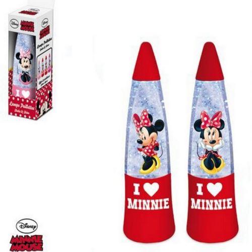 Lampe a paillette Minnie Mouse veilleuse enfant
