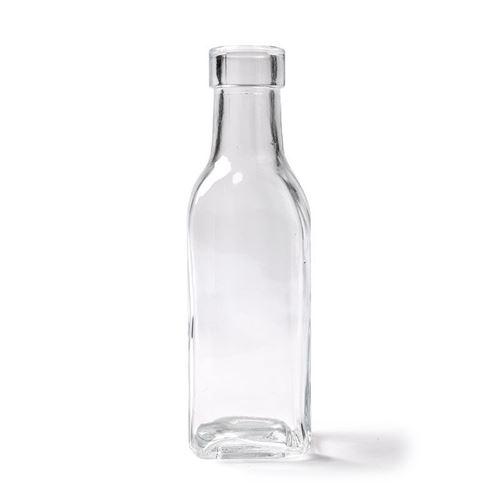 vase bouteille carrée 15 cm