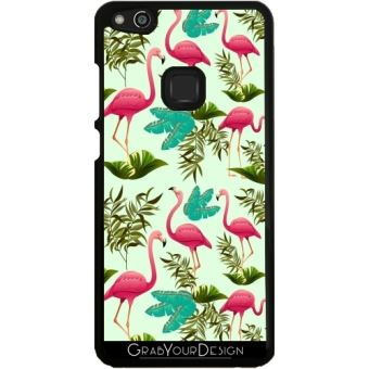 coque huawei p10 flamant rose
