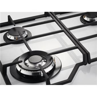 12b404a2fb0786 Table de cuisson gaz 59cm 4 feux 8900w blanc - KGG6436W - ELECTROLUX -  Achat   prix   fnac