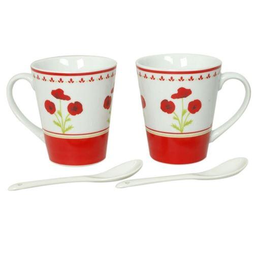 Coffret 2 Mugs + Cuilleres - Monet