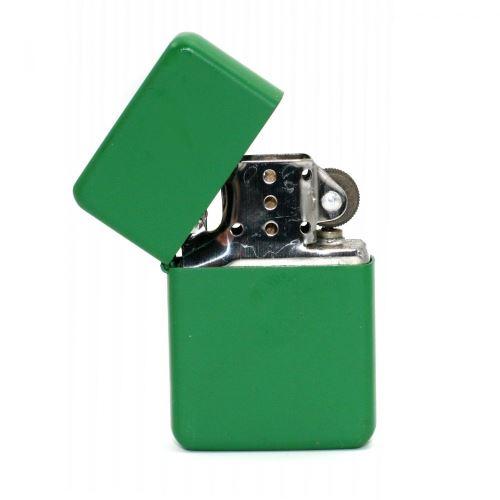 Briquet à Essence Vert - Soft Touch