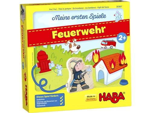 Haba jeu pour enfants Feuerwehr (DUI)