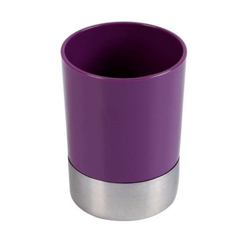 Gobelet salle de bain Violet